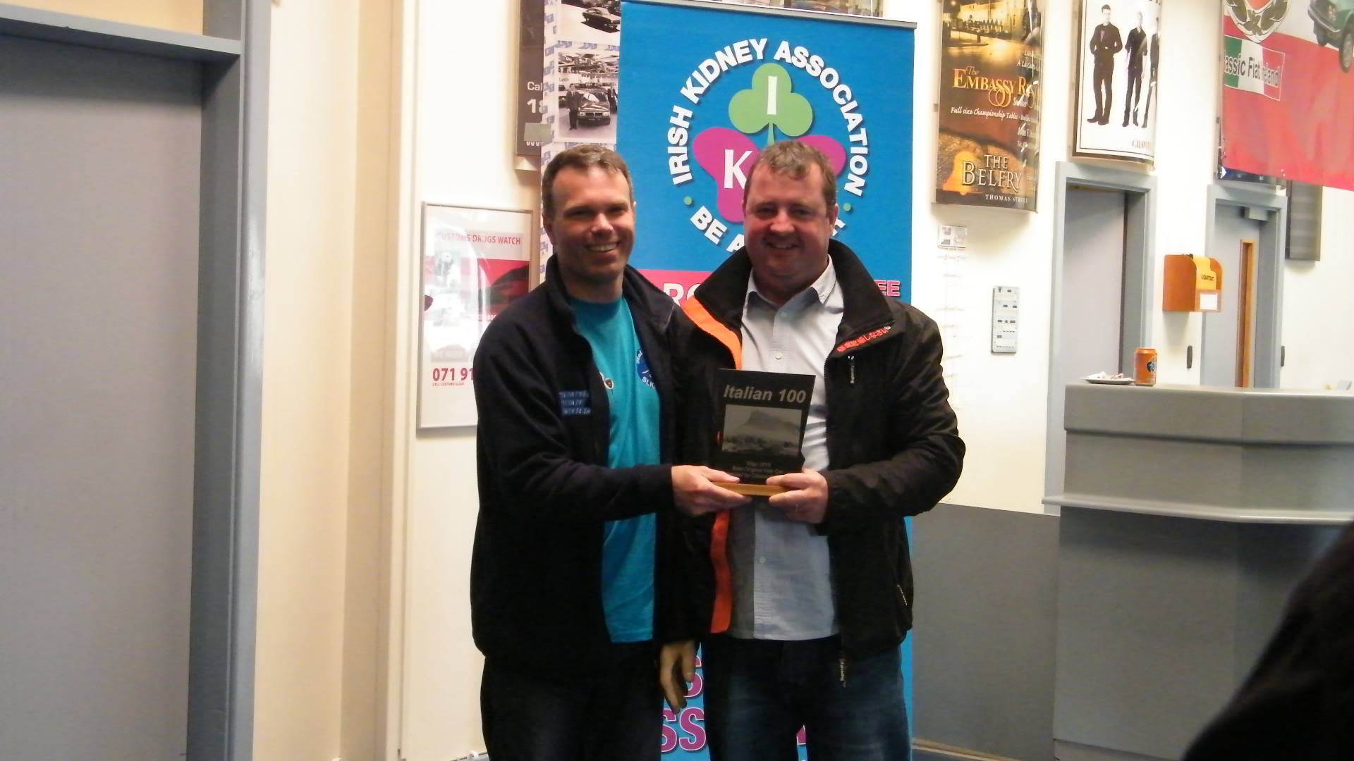 Best original Irish registered Car - Enda Carney; Fiat 132