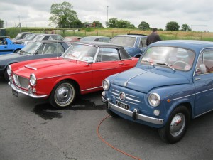 Edward's 1200 Cabrio & Paul's 600 – The diversity of models in the early 60's!
