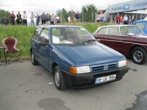 Colin & John Clinton's fantastically original 1991 Dark Blue Uno 45 3 Door