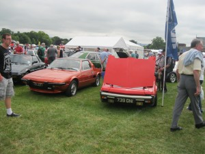 Charlie's Supercharged 1300 X along side Patsy & Helen's pride & joy