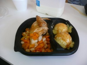 The free meal - Thank you Mountbellew Vintage Club committee