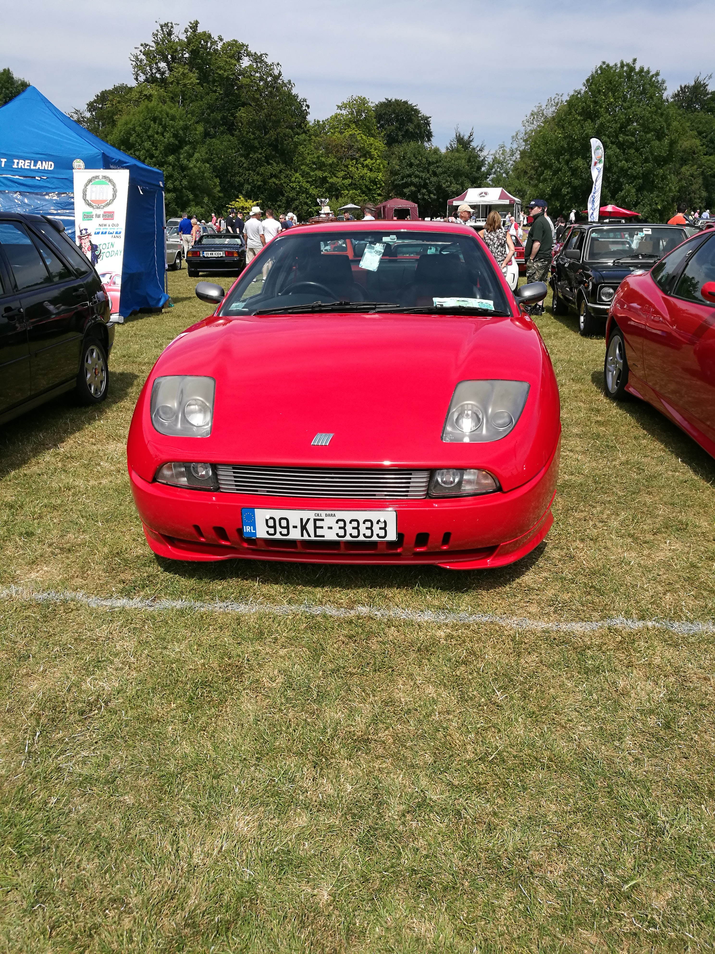 A very nice Fiat Coupe LE